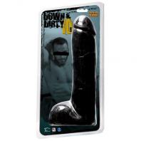 "DILDO WILDFIRE DOWN & DIRTY 10"" PRETO"
