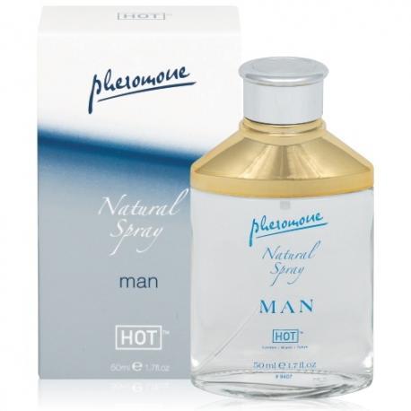 SPRAY COM FEROMONAS NATURAL SPRAY MAN 50ML