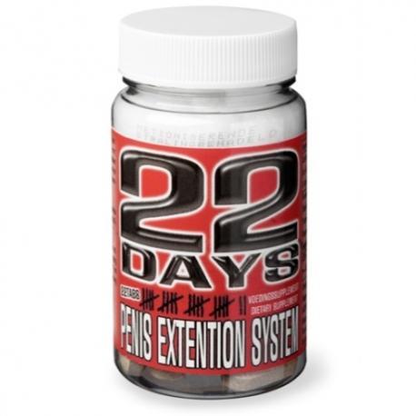 COMPRIMIDOS PARA AUMENTO DO PÉNIS 22 DAYS PENIS EXTENSION SYSTEM