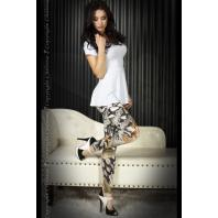 LEGGINGS CR-3457 VERDES E PRETAS
