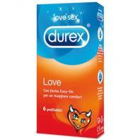 PRESERVATIVOS DUREX LOVE 6 UNIDADES