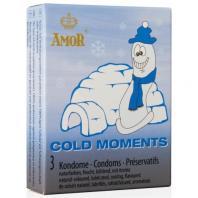 PRESERVATIVOS COLD MOMENTS 3 UNIDADES