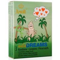 PRESERVATIVOS WILD DREAMS 3 UNIDADES