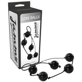 BOLAS ANAIS LOVE BALLS JAMMY JELLY ANAL PRETAS