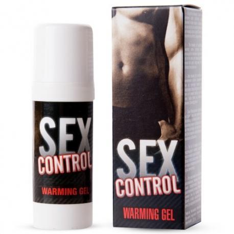 GEL DE MASSAGEM COM EFEITO CALOR SEX CONTROL 30 ML