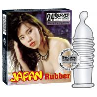 PRESERVATIVOS JAPAN RUBBER 24 UNIDADES