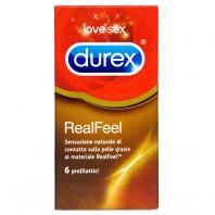 PRESERVATIVOS DUREX REAL FEEL 6 UNIDADES