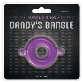 ANEL PARA O PÉNIS BITCHIN' DANDY'S BANGLE ROXO