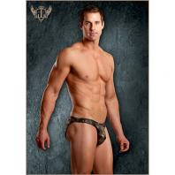 SLIP POUCH ENHANCER BIKINI MALE POWER DOURADO
