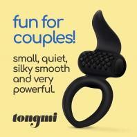 ANEL TONGMI SILICONE COUPLE VIBRATOR CRUSHIOUS